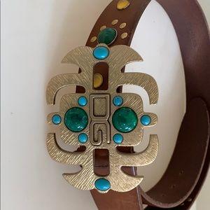 Dolce $ Gabbana vintage men's leather belt